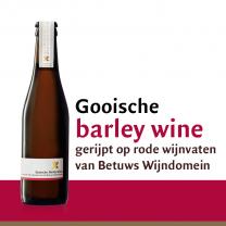 Barrel aged barley wine gerijpt op LingeRood Cuvée Barrique vaten