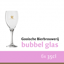 Gooische Bubbel glazen set 6stk