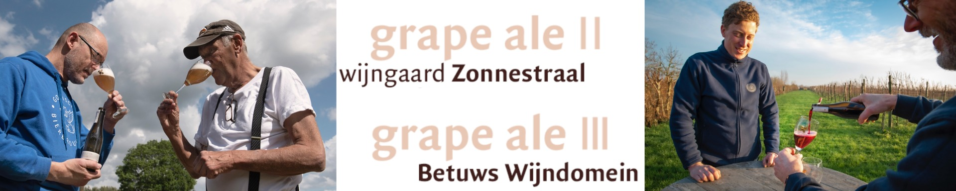 Grape Ale II en III Barley Wine Gooische Bierbrouwerij